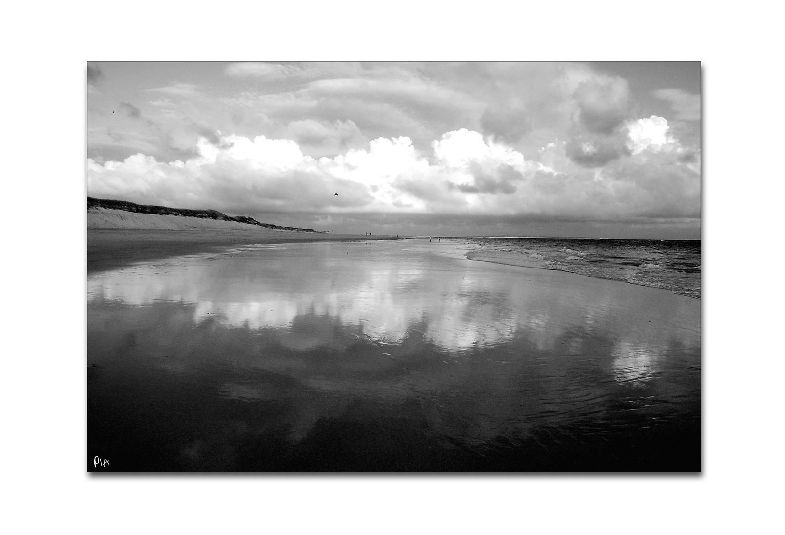 reflections at the north sea - no.1