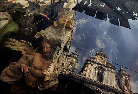 Reflections of Naples - Piazza dei Girolomini