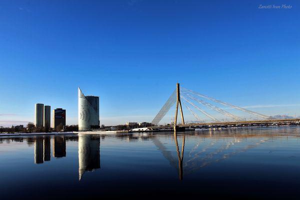 Reflections on the Daugava