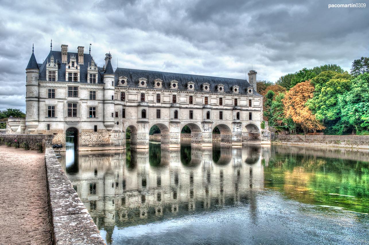 Reflejo Castillo de Chenonceau