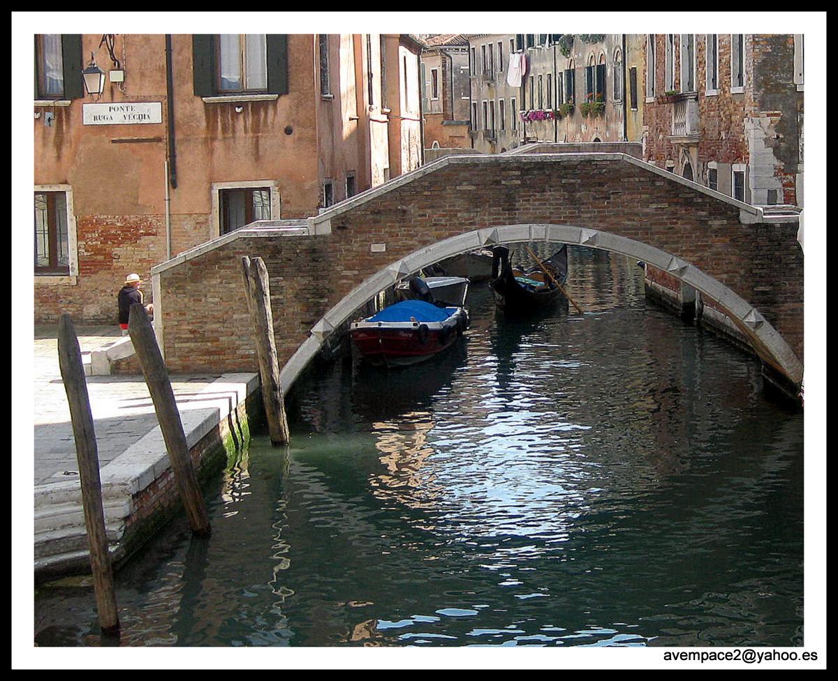 reflejo en el canal