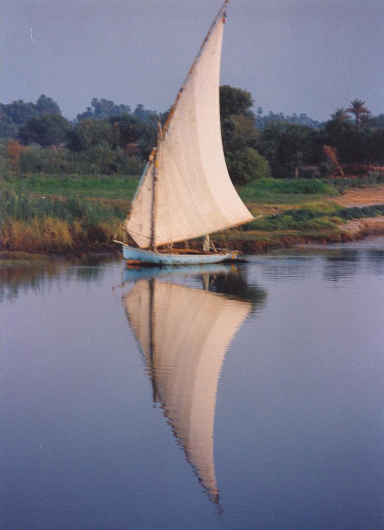 Reflejo en el Nilo