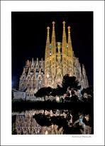 Reflejos de la Sagrada Familia (Gaudí)