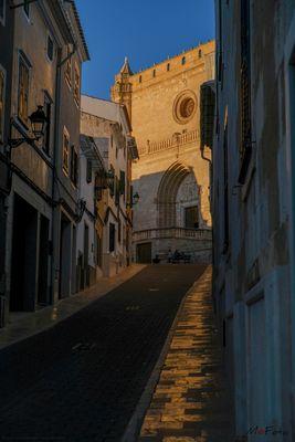 Reflejos de Santa Eulalia (Alaior Menorca Illes Balears)