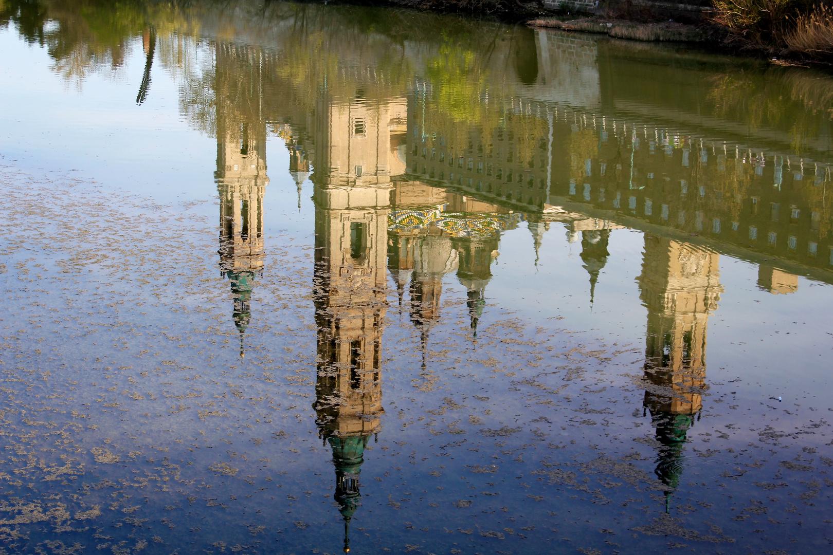 Reflejos del Pilar( Zaragoza)