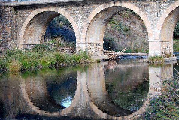 reflejos del puente rio cuerpo de hombre 1