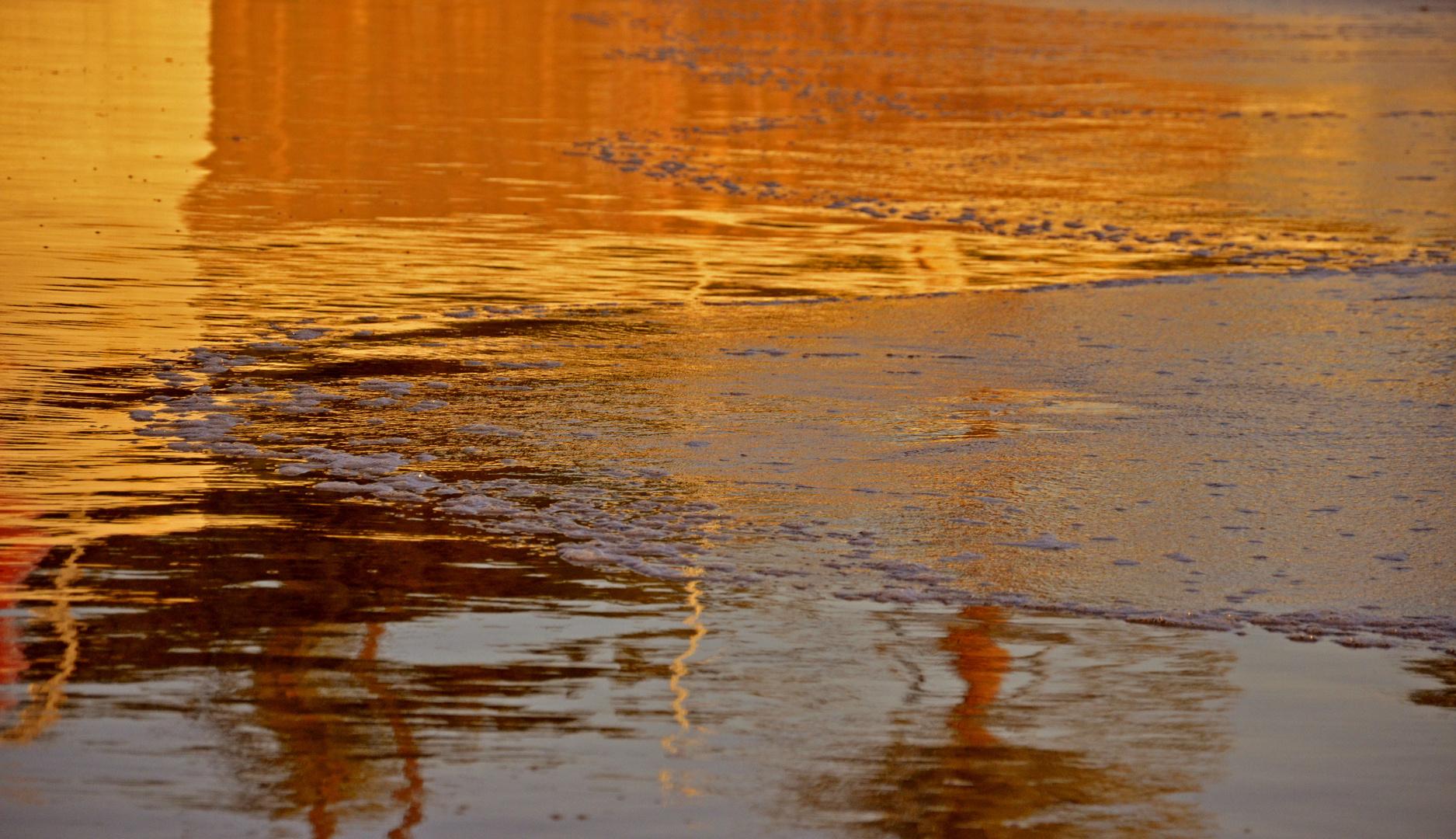 Reflejos en la arena I