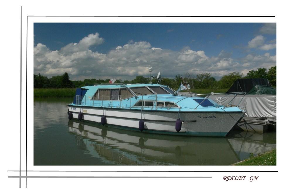 reflet bateau