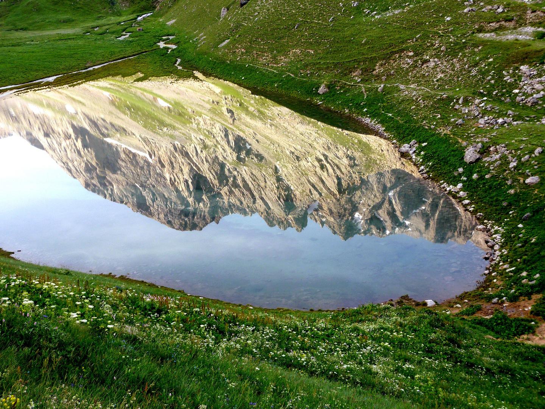 Reflet dans le massif des Cerces