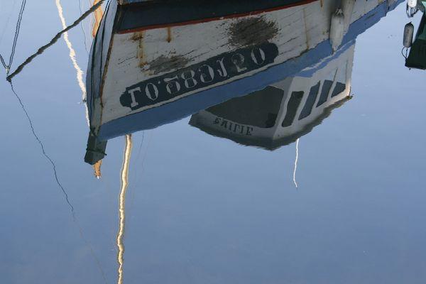 Reflet de bateau