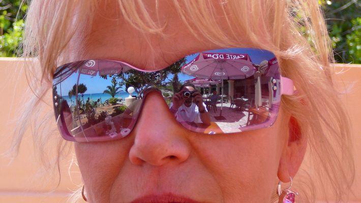 reflet de la vision