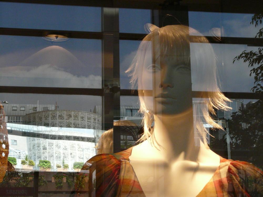 reflet de mannequin...