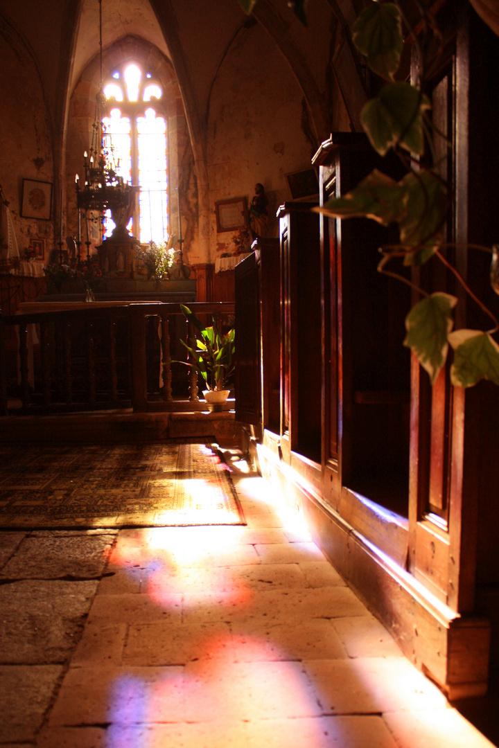 reflet de vitraux