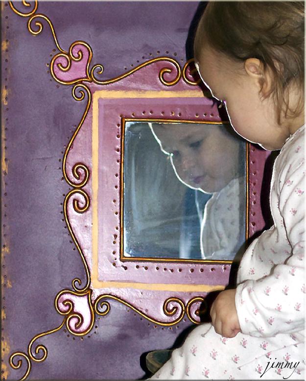 Reflet enfantin