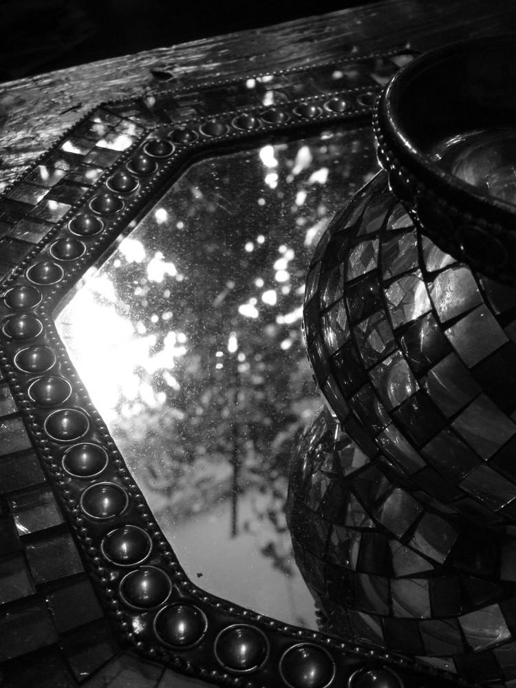 Reflet figé