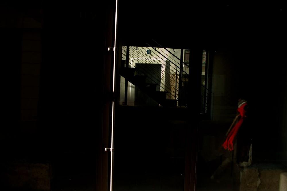 reflet rouge