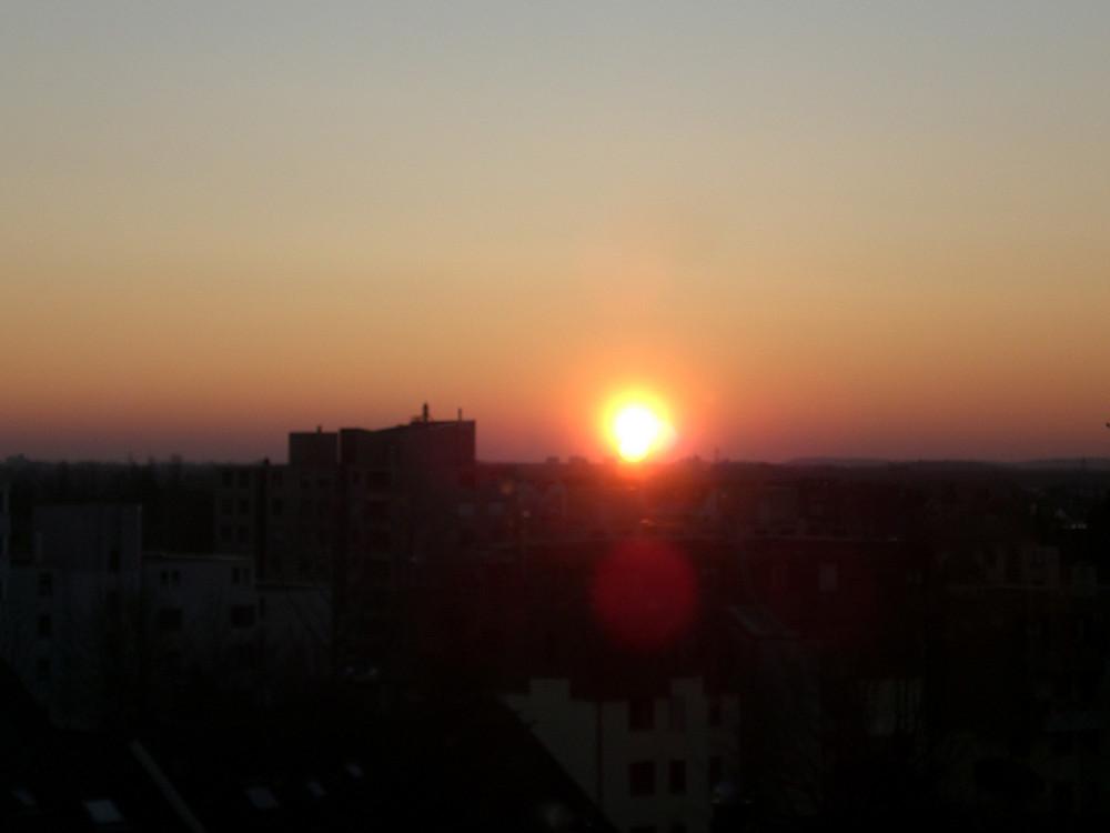 Reflets au coucher du soleil - '7'