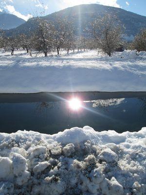 reflets d hiver