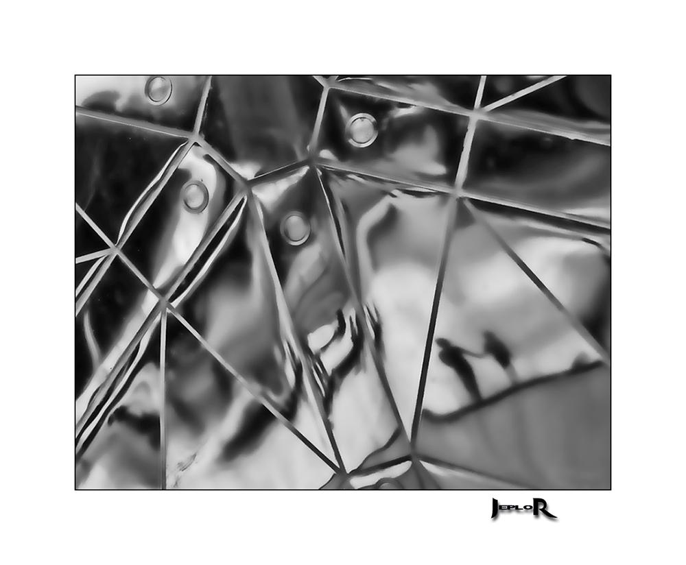 Reflets dans l'atomium