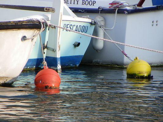 Reflets dans le port de Sète