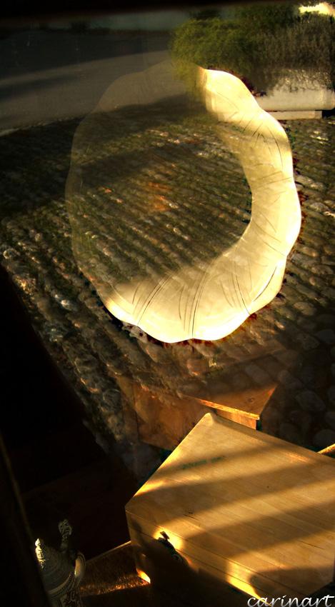 Reflets dans une vitrine