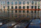 reflets d'eau de pluie