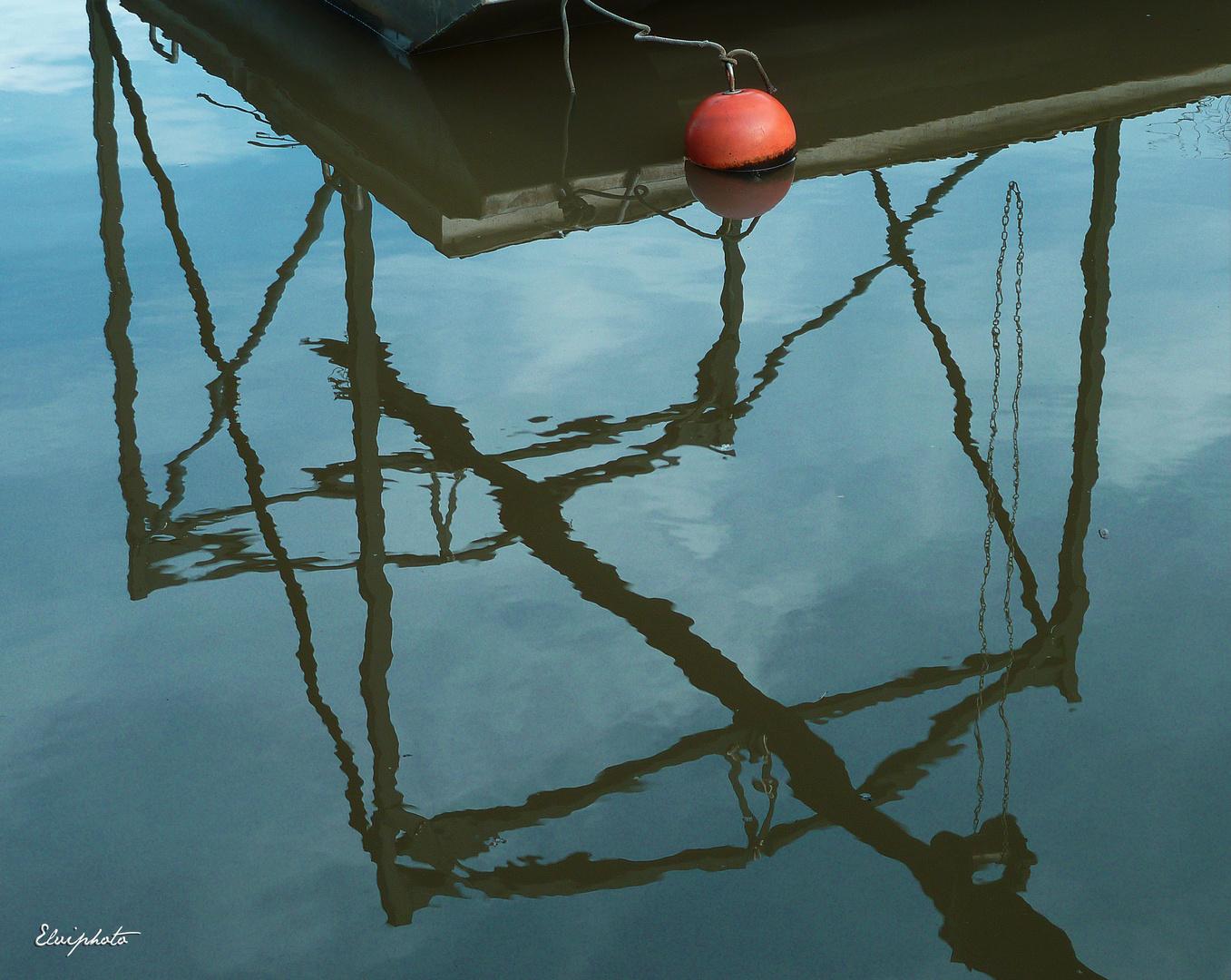 Reflets du ponton