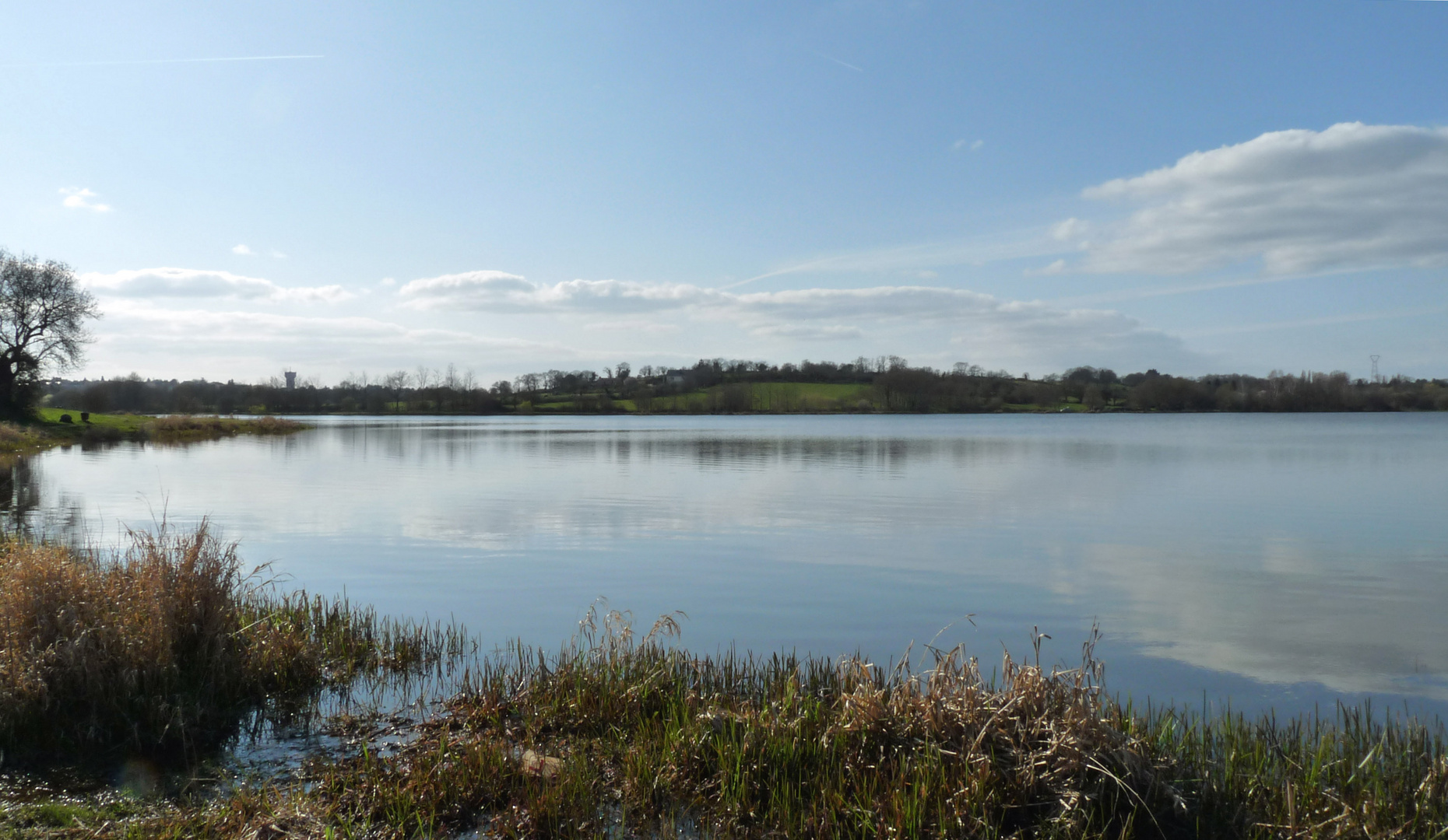 REflets surb le lac 2