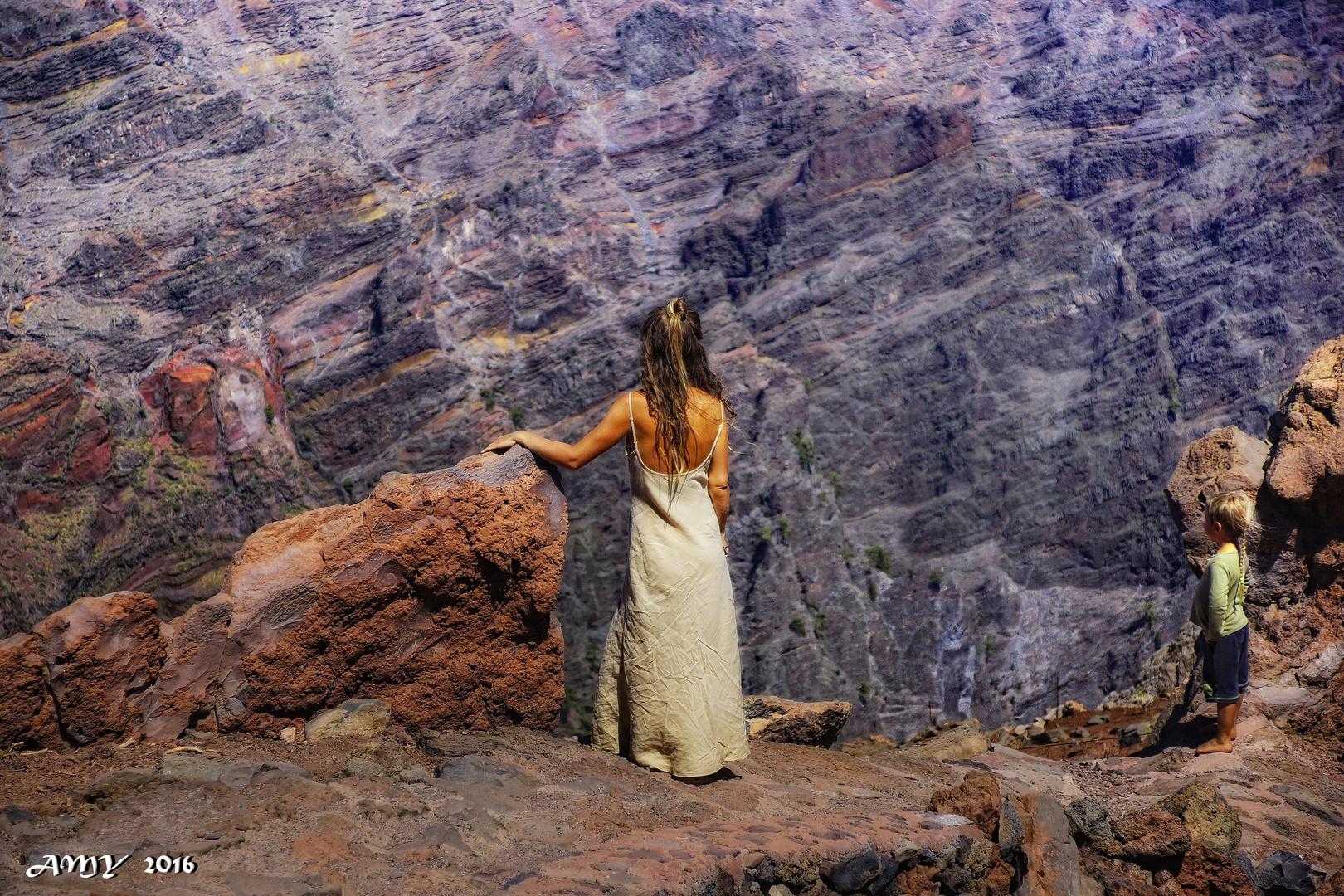 REFLEXIÓN EXISTENCIAL EN LA ISLA DE LA PALMA. Dedicada a LAS PERSONAS IMPORTANTES DE MI VIDA.