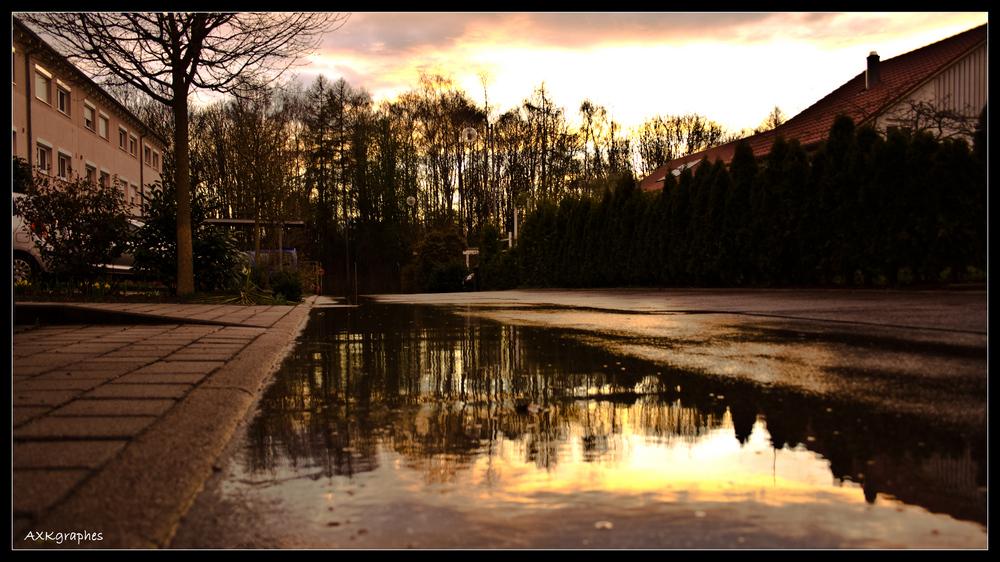 Reflexionen nach dem Trauerregen