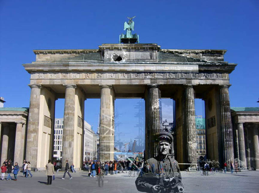 Refotografie - Brandenburger Tor 1945/2005