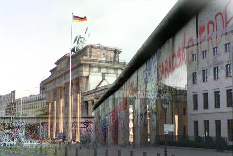 Refotografie - Brandenburger Tor 1988/2007