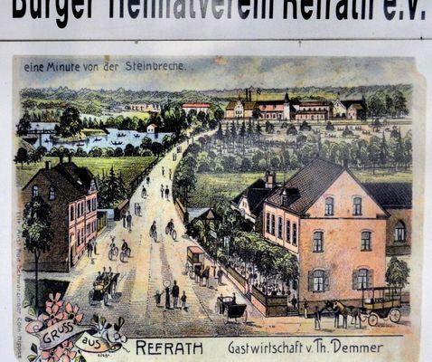 Refrath um 1900
