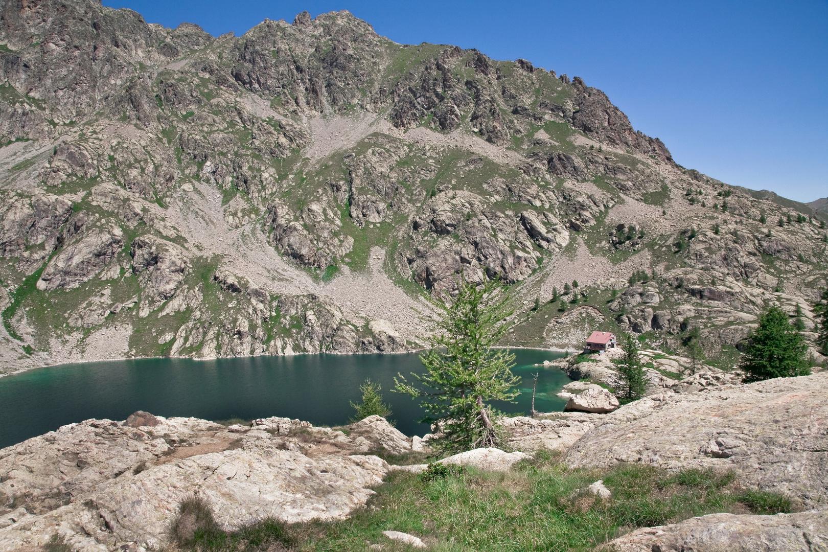 Refuge de la Valmasque - les trois lacs ( Mercantour été 2009)