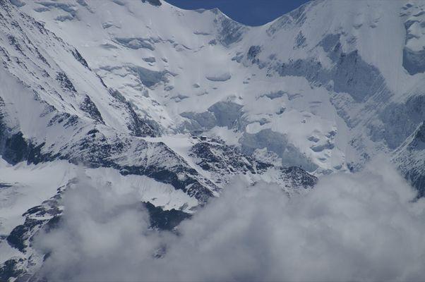 Refuge de Tête Rousse dans le Massif du Mont Blanc