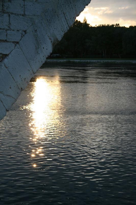 Regard sous le pont