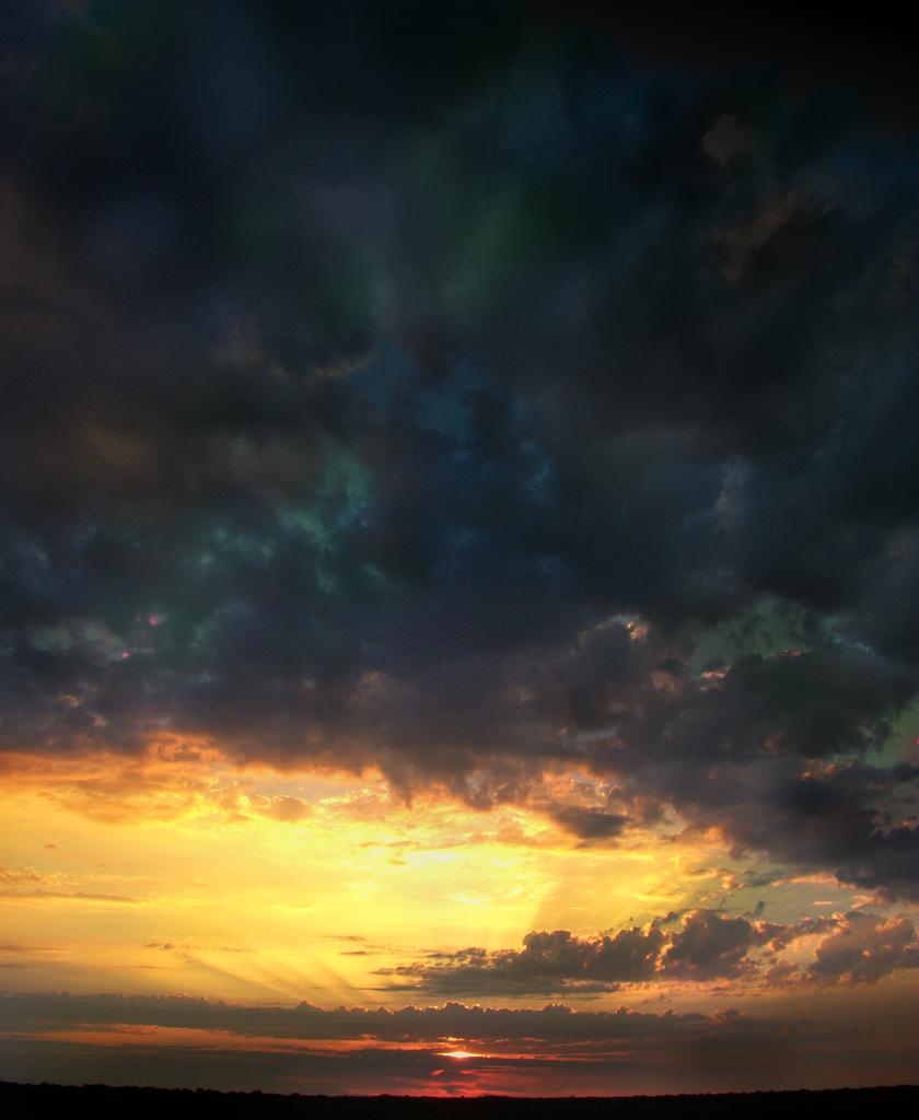 regarde plus loin que les nuages