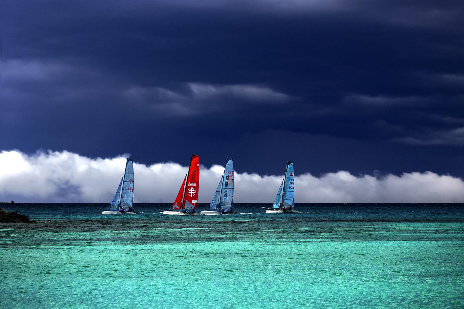 Régate de catamarans
