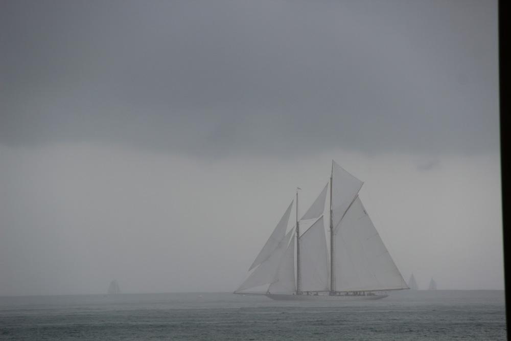 Regatta bei Gewitter