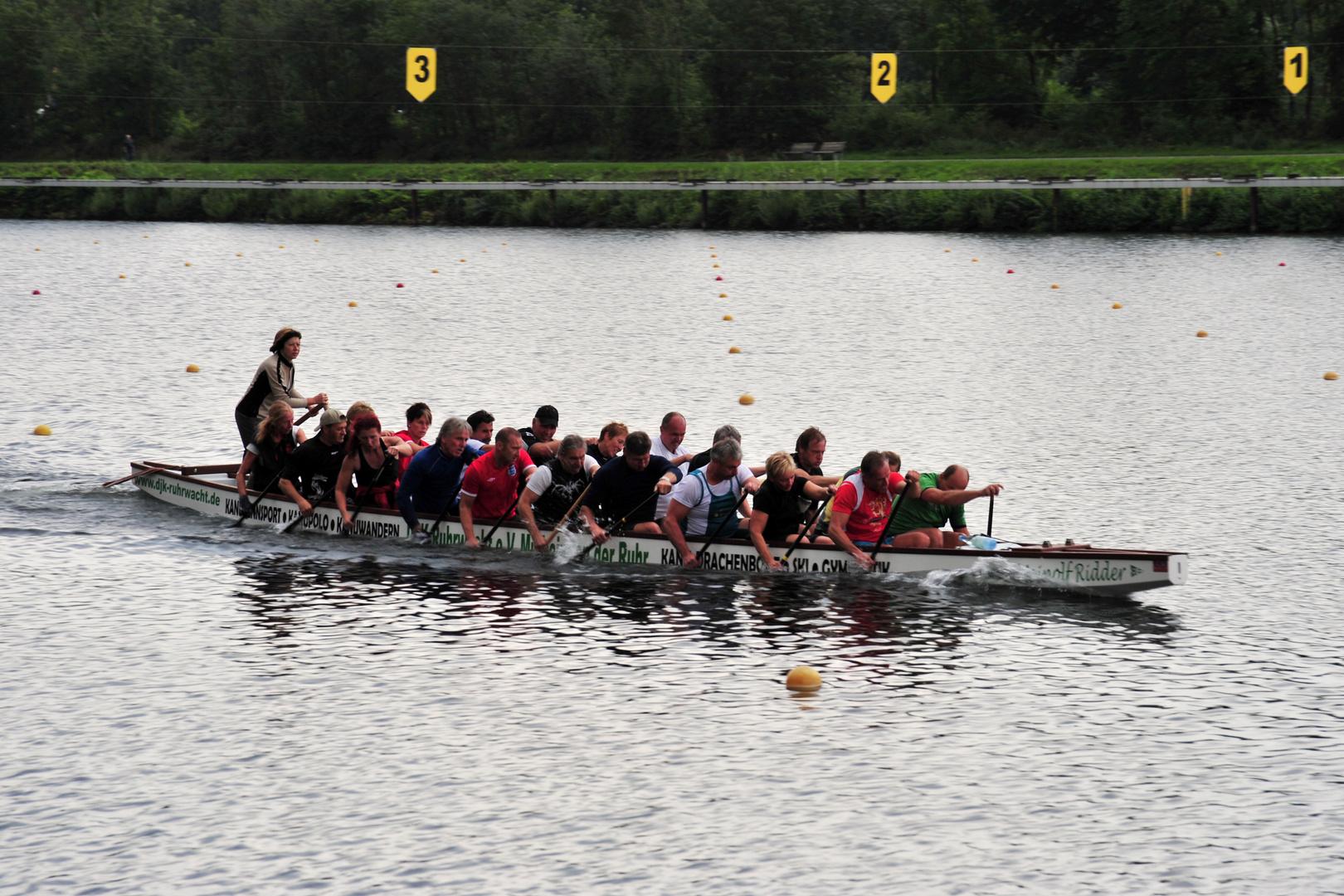 Regattabahn Duisburg - Vorbereitung auf die WM 2011 in Kanada