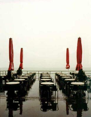 Regen am Bodensee
