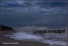 Regen am Strand von Wangerooge 2