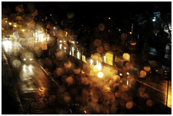 Regen durchs Fenster, Barcelona