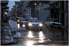 Regen in Havanna