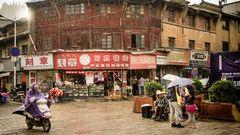 Regen in Kunming