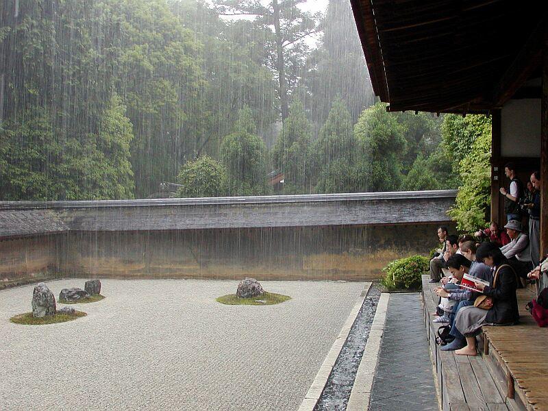 Regen in Kyoto