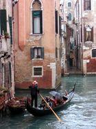 Regen in Venedig