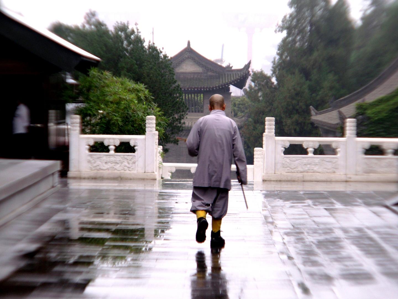Regen in Xi´an