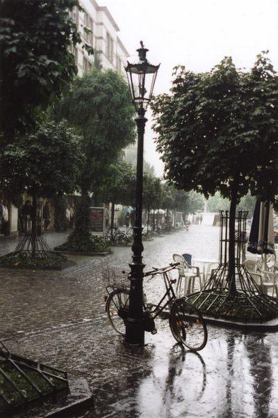 Regen kann auch schön sein