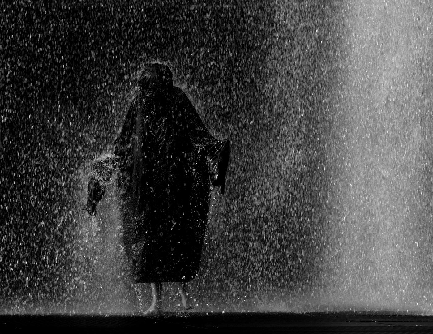 Regen macht nass.